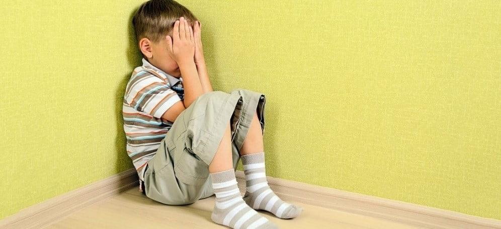 أعراض الخوف عند الأطفال
