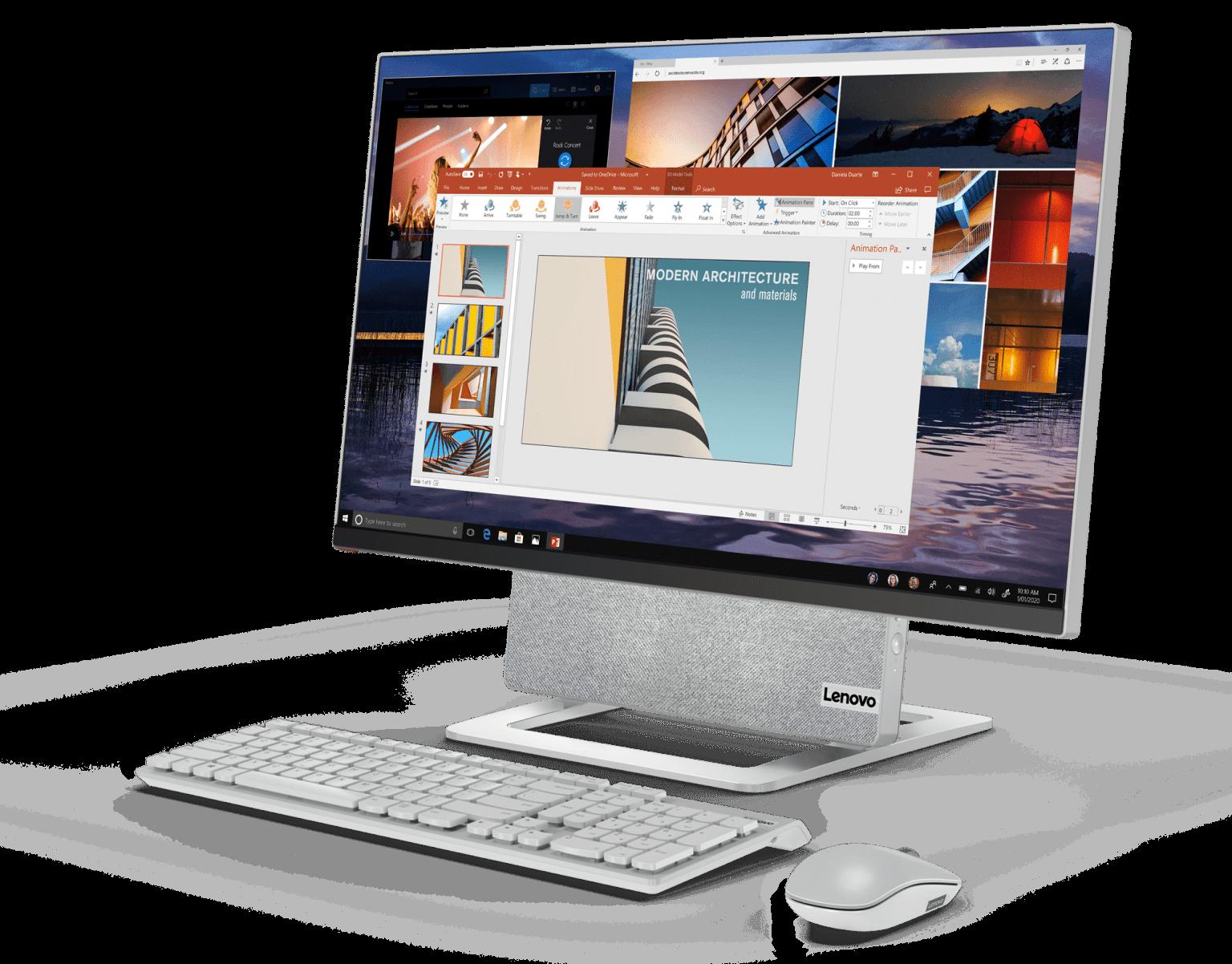 الكمبيوتر المكتبي Yoga AIO 7
