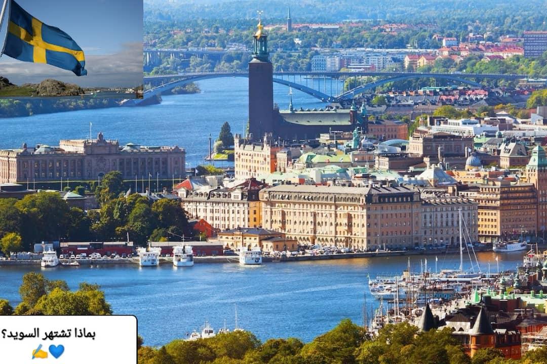 بماذا تشتهر دولة السويد