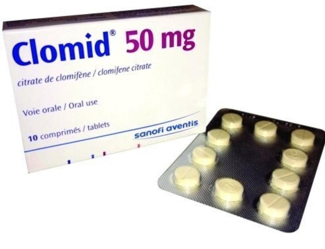 أقراص كلوميد لعلاج العقم